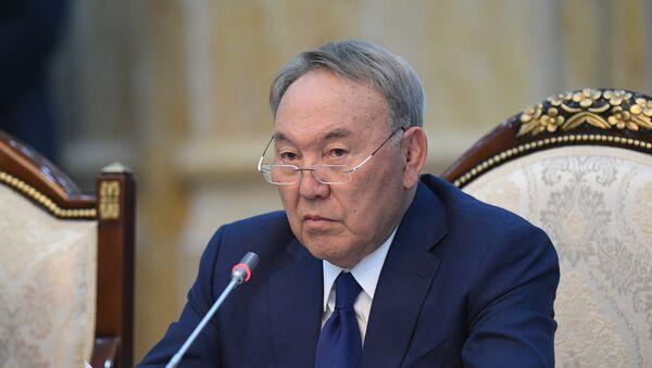 Президент Казахстана Нурсултан Назарбаев, фото из архива - Sputnik Azərbaycan