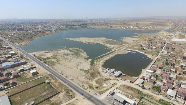 Работы в рамках строительства канализационных коллекторов - Sputnik Азербайджан