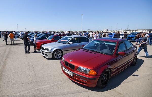 BMW Festival - Фестиваль автомобилей БМВ в Баку - Sputnik Азербайджан