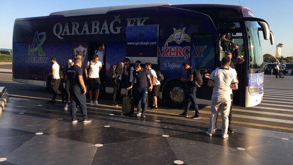 Карабах отправился на первый матч Лиги чемпионов - Sputnik Азербайджан