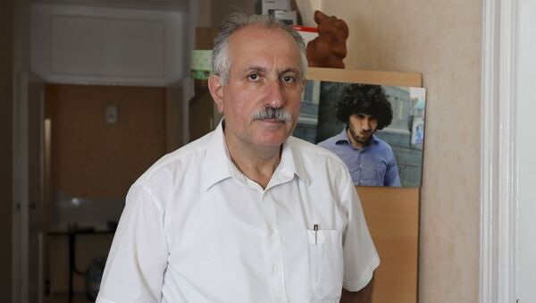 Директор информационного агентства Turan Мехман Алиев, фото из архива - Sputnik Азербайджан