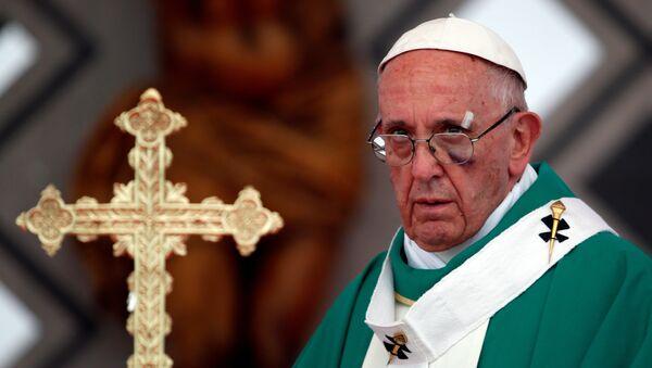 Roma Papası Fransisk, 10 sentyabr 2017-ci il - Sputnik Azərbaycan