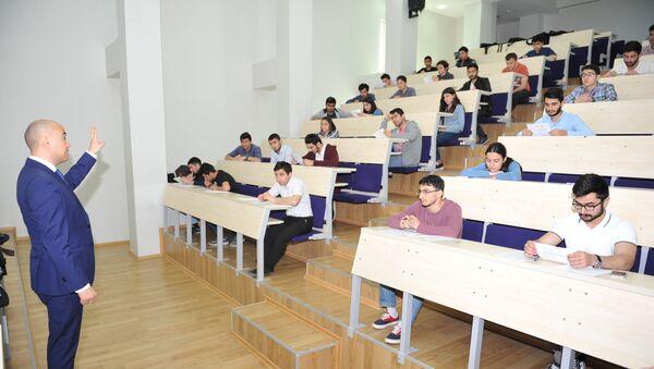 Auditoriyada tələbələr, arxiv şəkli - Sputnik Azərbaycan