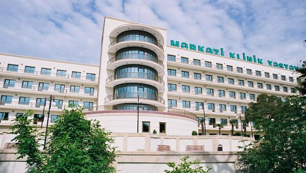 Центральная клиническая больница, фото из архива - Sputnik Азербайджан