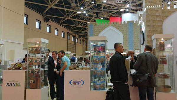 Стенд Азербайджана на международной продовольственной выставке Worldfood Moscow - Sputnik Азербайджан