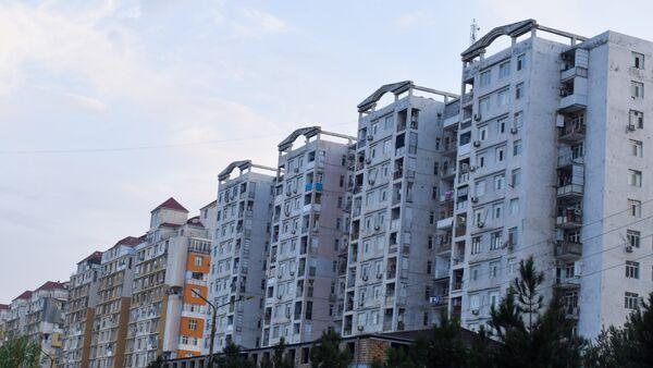Жилые дома в Баку, фото из архива - Sputnik Азербайджан
