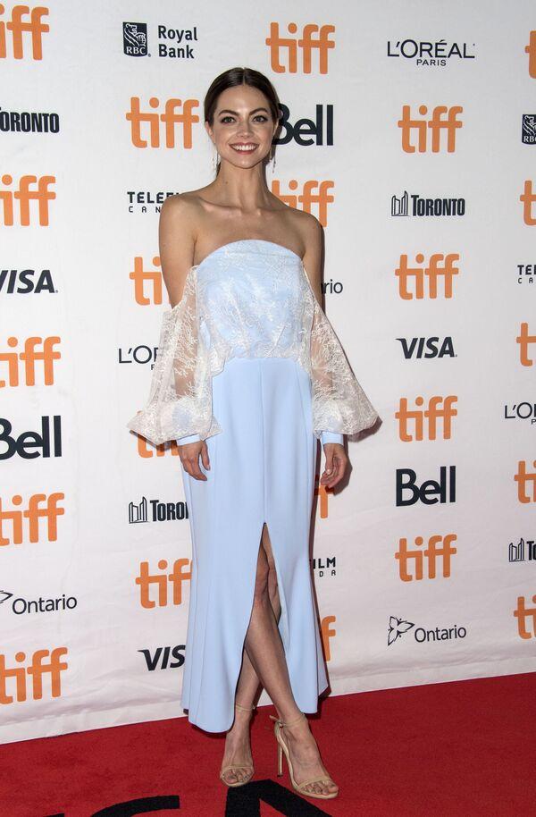 Американская актриса Кэйтлин Карвер перед премьерой фильма Я, Тоня, прошедшей в рамках TIFF - Sputnik Азербайджан