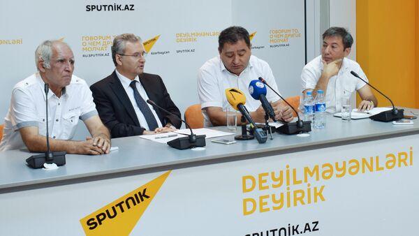 Мероприятие, посвященное началу нового учебного года в Азербайджане - Sputnik Азербайджан