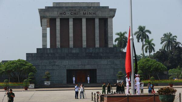 Мавзолей Хо Ши Мина на площади Бадинь в Ханое, Вьетнам, фото из архива - Sputnik Азербайджан