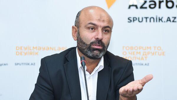 Теолог гаджи Адиль Гусейноглу - Sputnik Азербайджан
