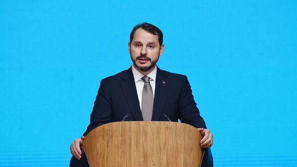 Министр энергетики и природных ресурсов Турции Берат Албайрак - Sputnik Азербайджан