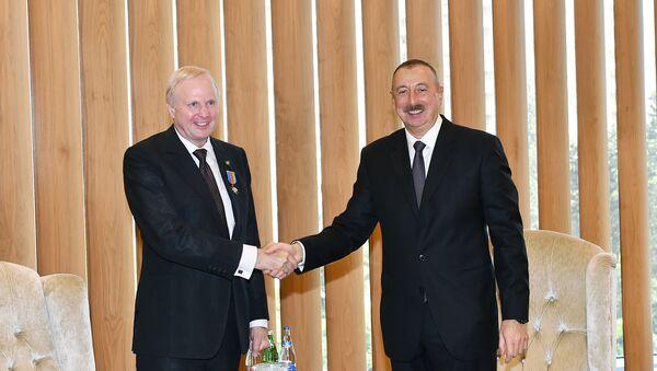 Президент Ильхам Алиев встретился с генеральным исполнительным директором компании ВР Робертом Дадли - Sputnik Азербайджан