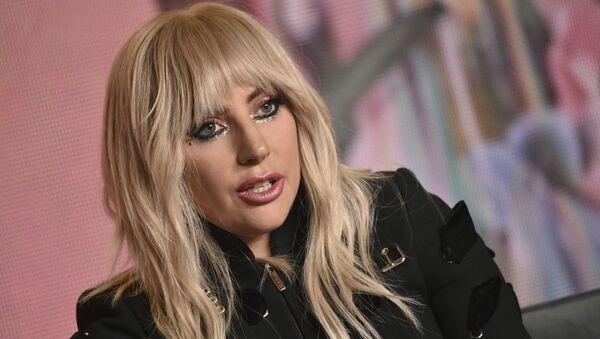 Американская певица Леди Гага, фото из архива - Sputnik Азербайджан