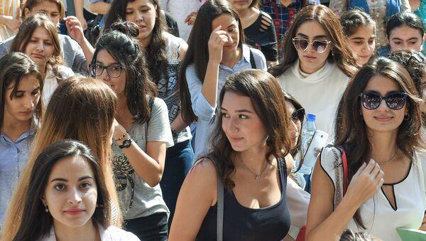 Начало учебного года в Бакинском государственном университете - Sputnik Азербайджан