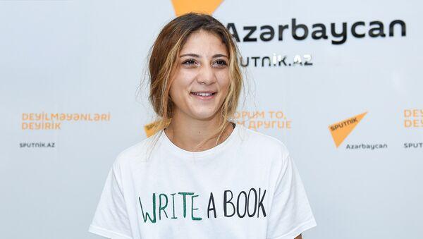 Член женской национальной сборной Азербайджана по боксу Марьям Джабраилова - Sputnik Азербайджан
