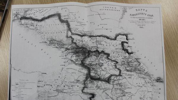 Qafqazın xəritəsi - Sputnik Azərbaycan