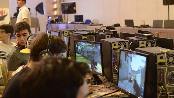 Чемпионат Азербайджана по компьютерным играм среди молодежи, фото из архива - Sputnik Азербайджан
