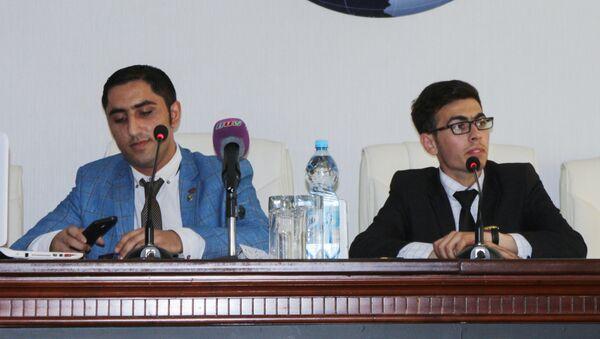 Презентация клуба Азербайджан-Израиль - Sputnik Азербайджан