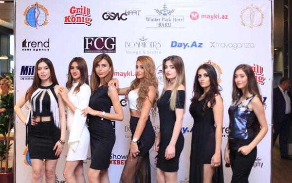 Кастинг среди моделей для международного конкурса красоты Beauty of the World 2017 - Sputnik Азербайджан