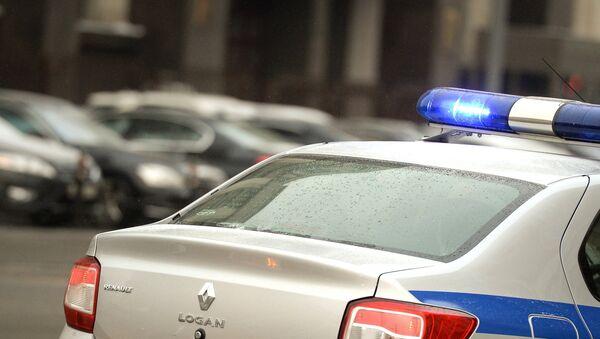 Полицейский автомобиль в Москве, фото из архива - Sputnik Azərbaycan