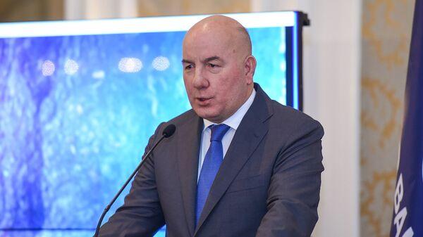 Председатель правления Центрального банка АР Эльман Рустамов - Sputnik Azərbaycan