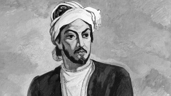 Репродукция портрета Имадеддина Насими Микаила Абдуллаева - Sputnik Azərbaycan