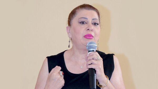 Председатель Союза детей Азербайджана Кямаля Агазаде - Sputnik Азербайджан