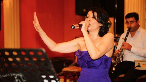Aзербайджанская исполнительница Тарана Махмудова - Sputnik Азербайджан