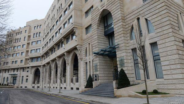 Здание Азербайджанской Национальной Консерватории - Sputnik Азербайджан
