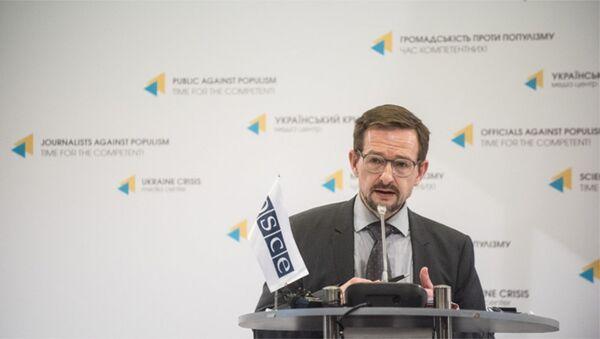 Генеральный секретарь ОБСЕ Томас Гремингер, фото из архива - Sputnik Азербайджан