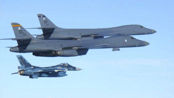 B-1B bombardmançıları - Sputnik Azərbaycan
