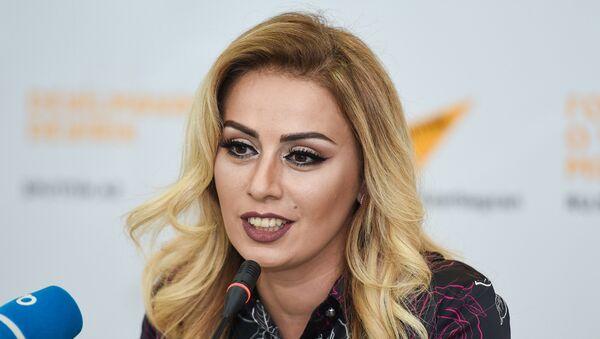 Müğənni Roza Zərgərli - Sputnik Azərbaycan