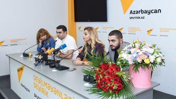 Пресс-конференция Розы Зяргрярли - Sputnik Азербайджан