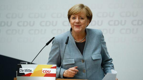 Ангела Меркель, фото из архива - Sputnik Азербайджан
