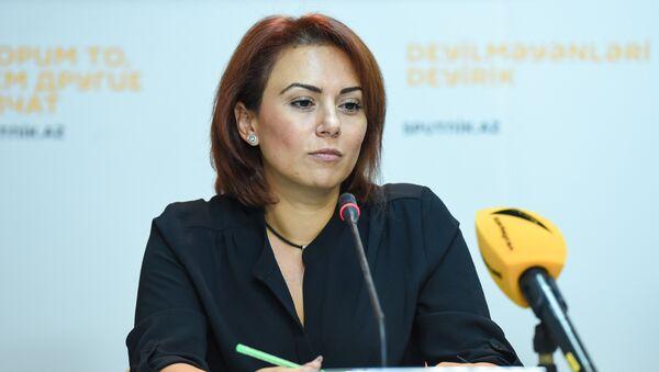 Маркетинг-менеджер Нацбюро Джамиля Талыбзаде - Sputnik Азербайджан