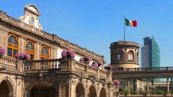 Центральная улица Мехико – Пасео-де-ла-Реформа - Sputnik Азербайджан