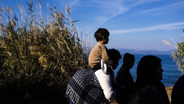Беженцы-афганцы, фото из архива - Sputnik Азербайджан