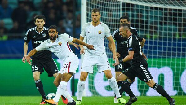 Qarabağ - Roma oyunu - Sputnik Azərbaycan