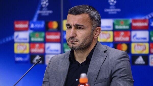 Главный тренер азербайджанского ФК Карабах Гурбан Гурбанов  - Sputnik Азербайджан
