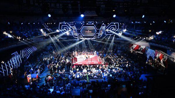Боксерская арена, фото из архива - Sputnik Азербайджан
