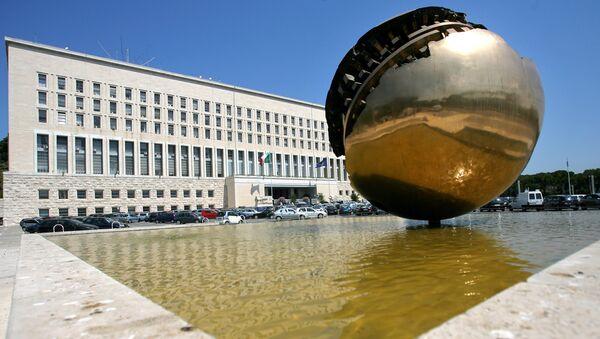 Здание МИД Италии, фото из архива - Sputnik Азербайджан
