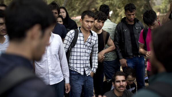 Беженцы из Афганистана, фото из архива - Sputnik Азербайджан
