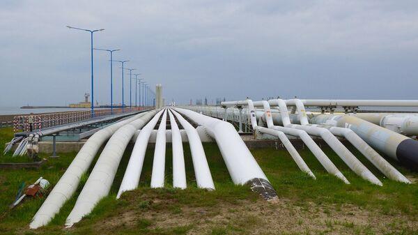 Газораспределительная станция, фото из архива - Sputnik Azərbaycan