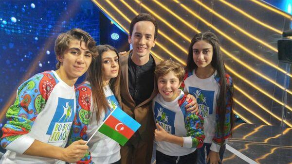 Рустам Керимов и Суада Алекперова стали участниками международного музыкального телеконкурса, Во весь голос - Sputnik Азербайджан
