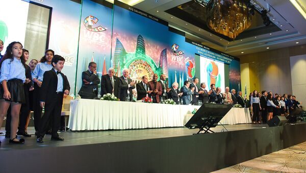 Dünya Boks Federasiyasının 55-ci konvensiyası - Sputnik Azərbaycan