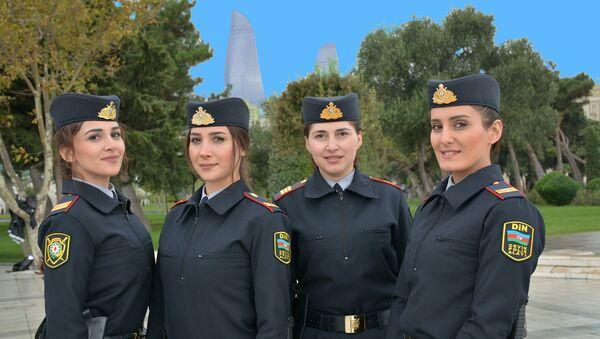 В Национальном приморском парке начали службу женщины-полицейские - Sputnik Азербайджан
