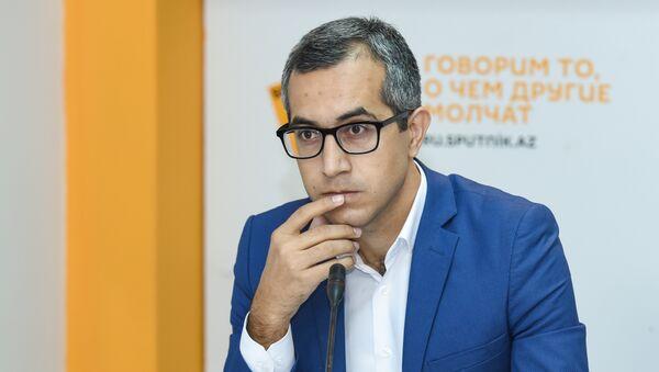 Эксперт в области образования Кямран Асадов - Sputnik Азербайджан
