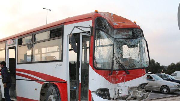 Qəzaya uğramış avtobuslar - Sputnik Azərbaycan