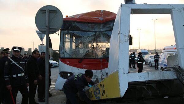 Qəza avtobus - Sputnik Azərbaycan