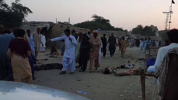 Pakistanda terror aktı, 5 oktyabr 2017-ci il - Sputnik Azərbaycan